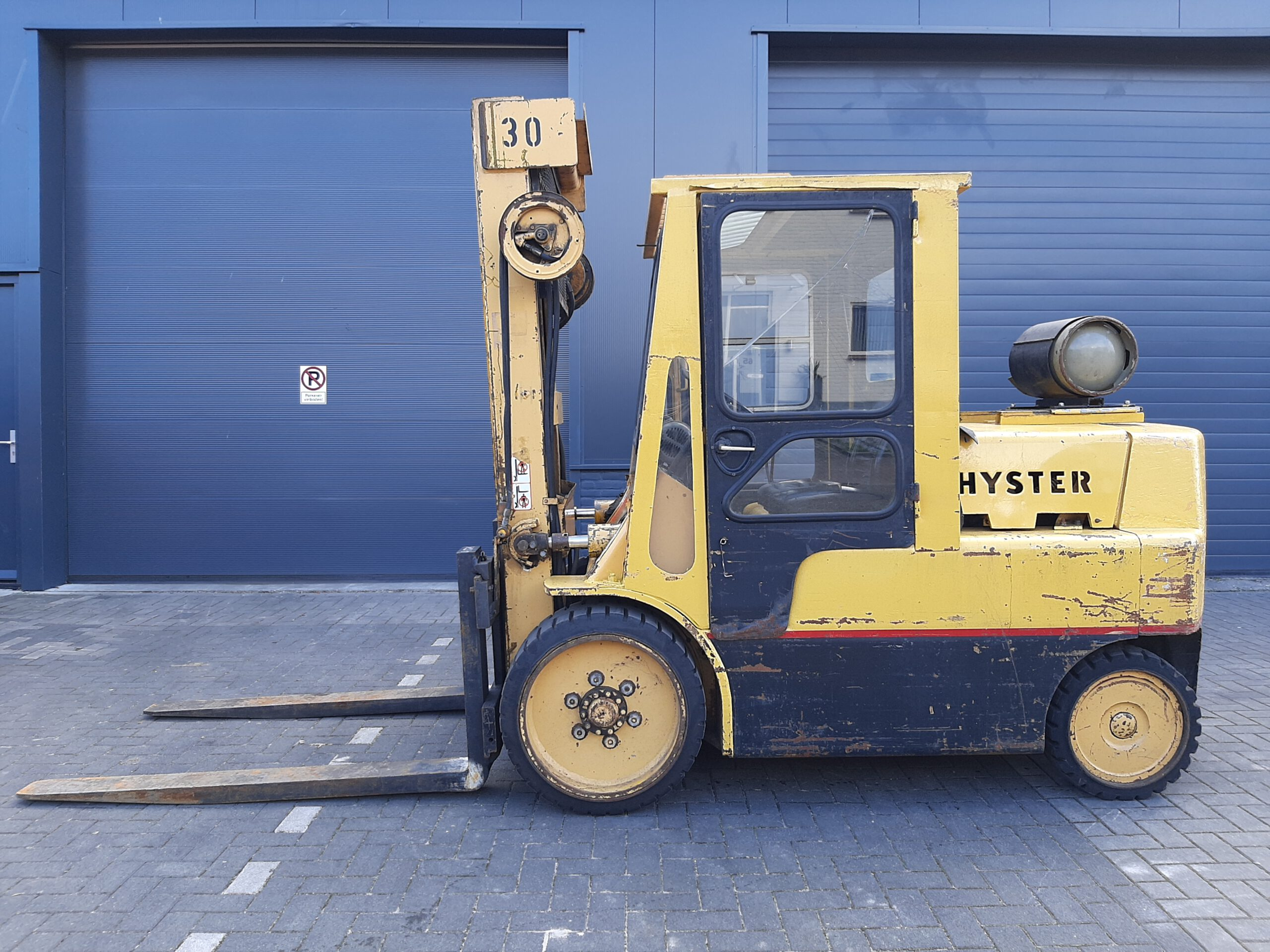 Hyster S7.00A Compacte 7 Tonner, Gas.